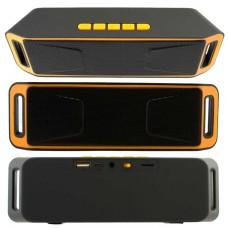 Портативная колонка MEGABASS A2DP SC-208 black-orange