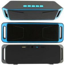 Портативная колонка MEGABASS A2DP SC-208 black-blue