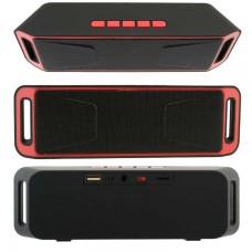 Портативная колонка MEGABASS A2DP SC-208 black-red