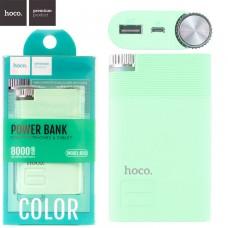 Power Bank Hoco B30 8000 mAh Original бирюзовый