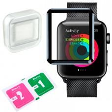 Защитное стекло Full Glue 3-4D Glass Apple Watch 42mm