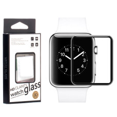 Защитное стекло Full Glue 3-4D Glass Apple Watch 44mm