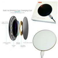 Беспроводное зарядное устройство XO WX001 - 15W Type-C белый