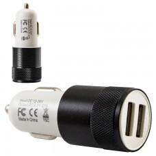 Автомобильное зарядное устройство Car-004 2USB 2.1A black без коробки