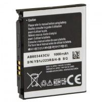 Аккумулятор Samsung AB603443CU 1000 mAh S5230, S5233, G800 AAAA/Original тех.пак