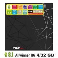 Android TV приставка SKY (T95 max) 4/32 GB