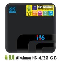 Android TV приставка SKY (H6) 4/32 GB