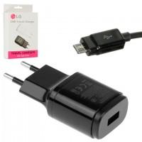 Сетевое зарядное устройство LG MCS-048R 1USB 1.8A micro-USB black